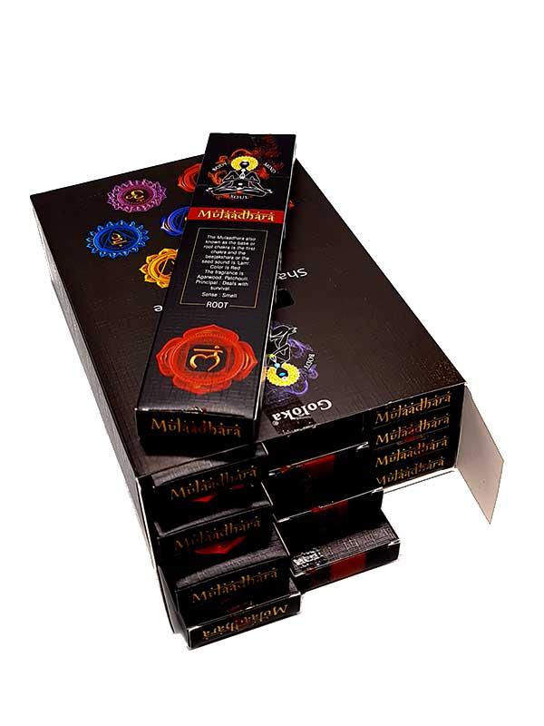 chakra muladhara caja inciensoshop