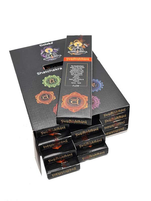chakra svadhithana caja inciensoshop
