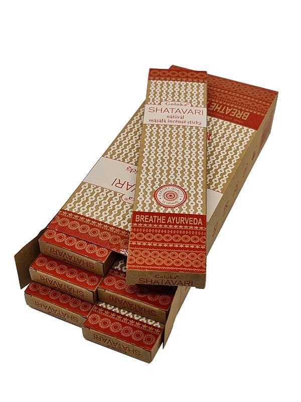 goloka shatavari caja inciensoshop